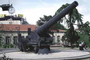 istanbul military museum, canon